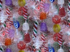 candy christmas tree decoration picture and wallpaper Christmas Scenery, Christmas Mood, Christmas Candy, Christmas 2016, Family Christmas, White Christmas, Merry Christmas, Christmas Tree Decorations, Christmas Tree Ornaments