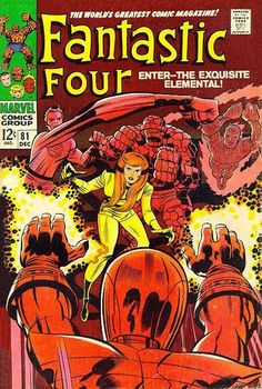 Fantastic Four # 81 by Jack Kirby & Joe Sinnott