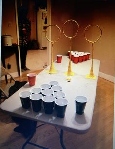 Harry Potter quittage/beer pong!! Yes please!