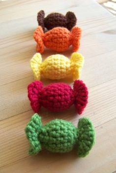 La dinette en crochet #Bonbons