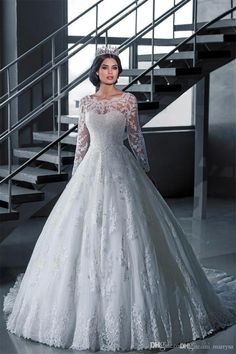Plus Size Wedding Dresses with Sleeves | Davids Bridal