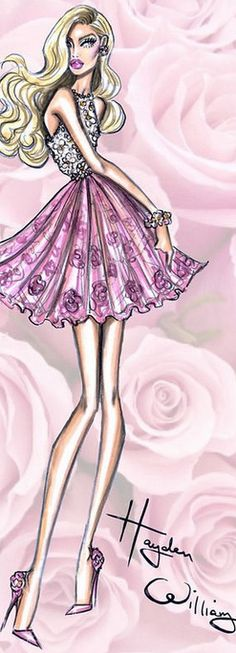 Fashion Illustration by Hayden Williams Fashion Illustration | House of Beccaria~