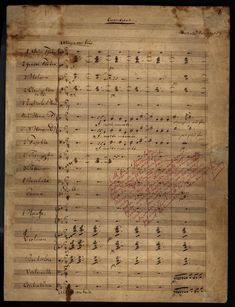 Opening of overture to Der fliegende Holländer in Wagner's hand and with his notes to the publisher http://upload.wikimedia.org/wikipedia/commons/3/3f/Der_fliegende_Holl%C3%A4nder.jpg
