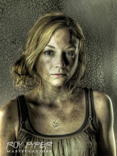 The Walking Dead: Beth: HDR Redux by nerdboy69.deviantart.com on @deviantART