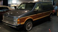 Fun Fact Tuesday! Ever see someone driving around town in a van similar to this one? This was the first minivan made in 1983 by Chrysler. Read about it here - http://gizmodo.com/30-years-ago-today-chrylser-invented-the-minivan-and-1457451986