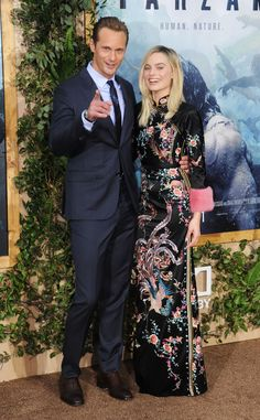 Alexander Skarsgard and Margot Robbie - The Legend of Tarzan