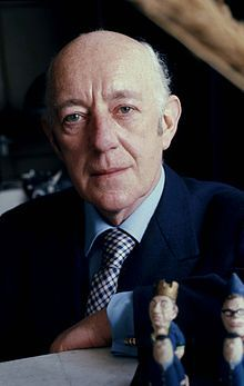 Sir Alec Guinness, actor 1914-2000--the great one, the best George Smiley