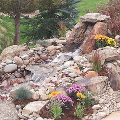 Another photo of this water feature.  I love the different textures. www.earthscaped.com