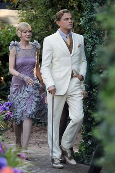 The Great Gatsby....Leonardo DiCaprio as Jay Gatsby...YES.