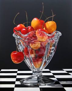 Hyper Realistic painting by Daryl Gortner Hyperrealism Paintings, Hyperrealistic Art, Photorealism, Painting Still Life, Still Life Art, Mago Tattoo, Cristal Art, Photo Macro, Hyper Realistic Paintings
