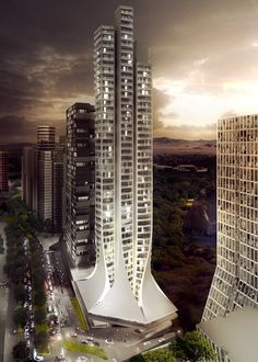 Zaha Hadid Architects Breaks Ground on Mexico City's Tallest Residential Building,Courtesy of Némesis Capital