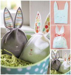 Cute bunny treat bags