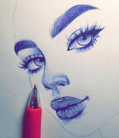Drawing | girl, love and beautiful