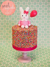 sweet agenda cakes sprinkle cake tutorial