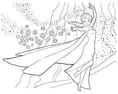 frozen coloring pictures | Coloring Frozen (The snow queen)