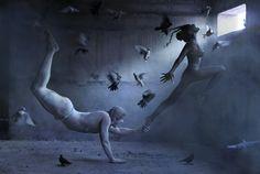 """Pigeons / Голуби"" by Ravshaniya Азулэ"