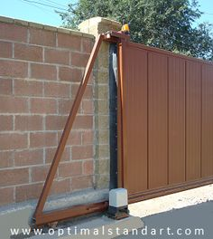 Откатные автоматические ворота Driveway Gate, Fence, Gate Design, House Design, Sliding Gate, 4x4 Off Road, Iron Gates, Entrance Gates, Welding