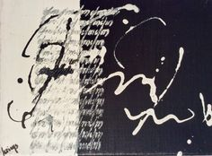 Toile Mark Making, Writings, Graphic Design Art, Calligraphy, English, Abstract, Artist, Canvas, Lettering