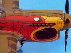by Luis Antonio Reyes Lavin (Hasegawa Model Hobbies, Nose Art, Model Airplanes, Model Kits, Model Building, Plastic Models, Scale Models, Diorama, Aircraft