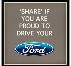 Ok I don't drive yet but ..yes I love my fords :)