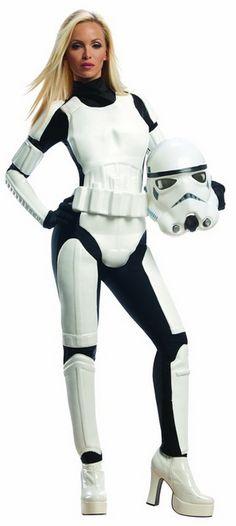 Womens Star Wars Storm Trooper Halloween Costume