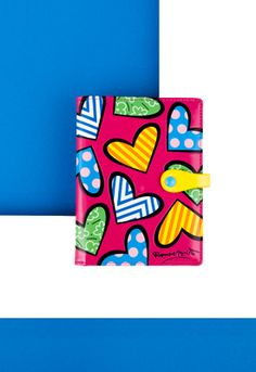 FUSCHIA HEARTS passport holder $32