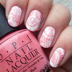 Tropick stamping with Opi Sorry i'm Fizzy today.