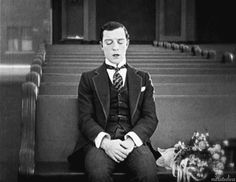 Buster Keaton in Seven Chances (1925)