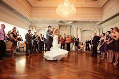 Jennifer Childress Photography | Park Savoy Estate | Associate Photographer | Wedding | Florham Park, NJ | Bride and Groom | Dance Floor   www.jennchildress.com