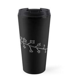 'Untitled' Travel Mug by alexandraharcea Transparent Stickers, Mug Designs, Sell Your Art, Travel Mug, Mugs, Tableware, Prints, Dinnerware, Tumblers