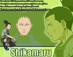 #NafishaDesign Anime  Shikamaru Naruto Quote