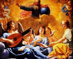The Athenaeum - A Concert Of Angels (Philippe de Champaigne - )