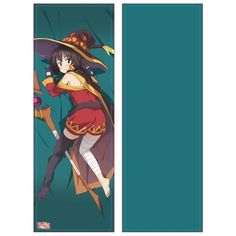 ,Movie: KonoSuba (Kono Subarashii Sekai ni Shukufuku o!) Kurenai Densetsu Original Illustration Seoware Megumin Body Pillow Case,Collectible  listed at CDJapan! Get it delivered safely by SAL, EMS, FedEx and save with CDJapan Rewards!