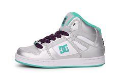 Trendy DC Rebound Hi (Grijs) Sneakers van het merk DC voor Dames. Uitgevoerd in Grijs gemaakt van Leer. Nu verkrijgbaar voor 0.00 bij Sneakershop.