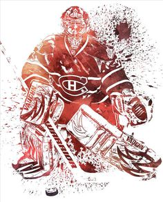 Carey Price Montreal Canadiens Water Color Pixel Art 1 Art Print by Joe Hamilton. All prints are professionally printed, packaged, and shipped within 3 - 4 business days. Montreal Canadiens, Joe Hamilton, Goalie Mask, Thing 1, Hockey Goalie, Wall Papers, All Art, Pixel Art, Fine Art America