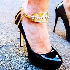 Anklet Shoe Accessory by jewelz by julz..The Collection on Opensky