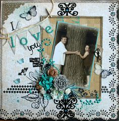 I Love You This Much - Scrapbook.com