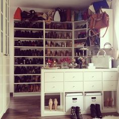 #closet #fashion #shoes #bags #luxury