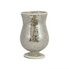Large Mosaic Vase in Neutral