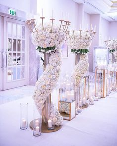 The wedding is the most romantic and warmest event. The wedding scene should also be decorated with beautiful decorations. Wedding decorations with flowers are the best choice for most brides and grooms. How to decorate Read more… Reception Decorations, Event Decor, Wedding Centerpieces, Wedding Table, Wedding Ceremony, Wedding Venues, Centerpiece Ideas, Lavender Centerpieces, Wedding Reception Entrance