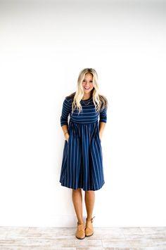 Roolee Boutique nursing friendly dress, in several colors