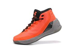 01d03723740d Free Shipping Only 69  Under Armour Curry 3 Davidson Laser Orange Slate Grey