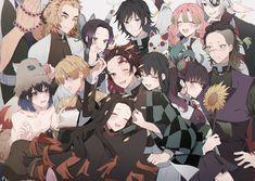 Anime Demon, Manga Anime, Anime Art, Demon Slayer, Slayer Anime, Dream Fantasy, Fantasy Art Landscapes, Vanitas, Anime Style