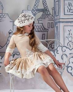 Marita Rial Young Fashion, Kids Fashion, Fashion Outfits, Toddler Dress, Baby Dress, Little Girl Dresses, Girls Dresses, Kids Outfits, Cute Outfits