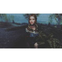 I uploaded my first character on the Nexus!  Her name is Wendy and I've written her description and backstory on the Nexus as well. Her download link is in my bio if you want to explore with her!  She is a healer! A special thanks to @my.own.multiverse for helping me convert her to SE!  #theelderscrollsv #tesv #skyrim #スカイライム#skyrimse #skyrimspecialedition #tamriel #ビデオゲーム #pc #playstation #xbox #gaming #modding #nexus #enb #girl #blonde #gloomy #sad #grave #mage #witch #fighter #dragons…
