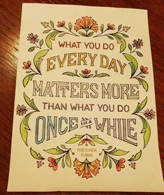 @gretchenrubin #coloring #adultcoloring #wisewords