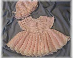 Crochet Pattern for Apple Blossom Baby Girl por littlebuddydolls