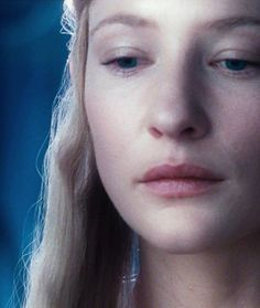 I love how Cate Blanchett portrayed the character of Galadriel as alluring and fearsome at the same time. She gave her power and gentleness, grace and fierceness, and balanced everything impeccably.
