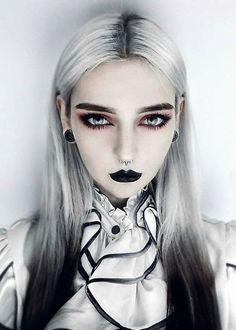 soft vampire look