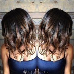 """298 Likes, 14 Comments - The Official ABCH Profile (@certifiedhaircolorists) on Instagram: """"❤️In love with this brunette lob❤️ @valloveshair"""""""